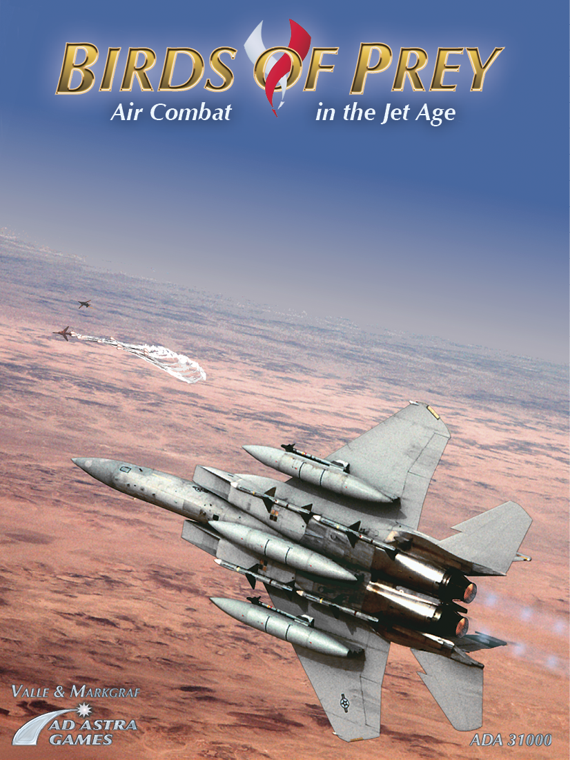 Birds of Prey: Air Combat in the Jet Age front cover