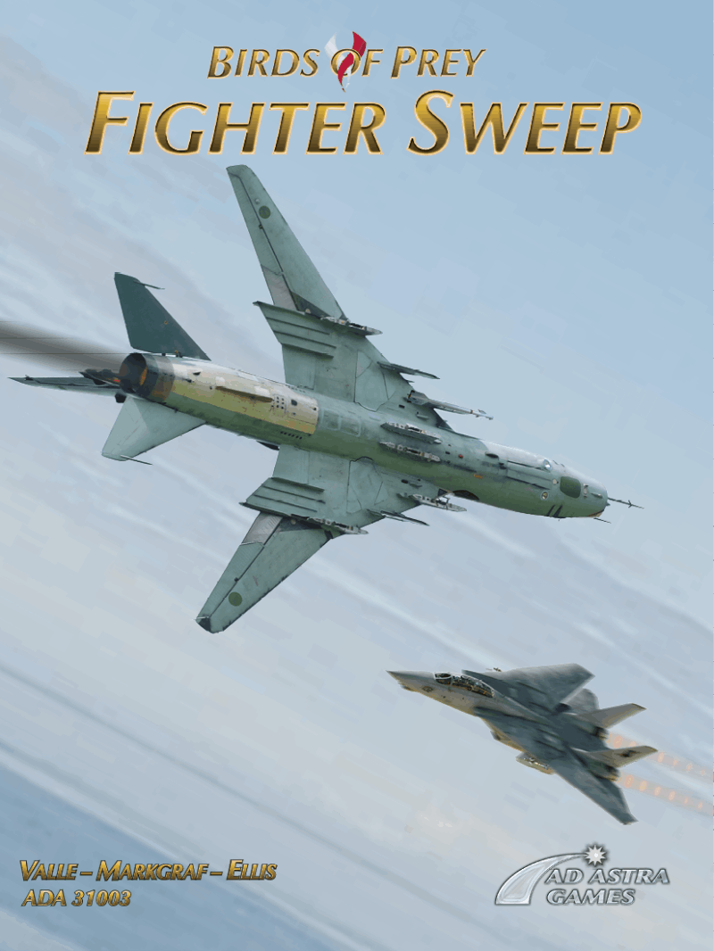 Fighter Sweep front cover
